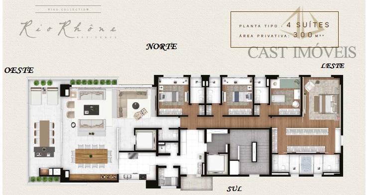 apartamento novo bairro batel, curitiba, pr.apartamento com 04 suítes em curitiba, pr.com grande alegria que anunciamos...