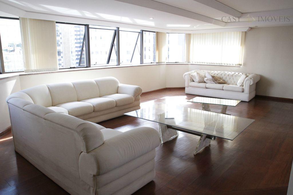 Apartamento de 5 dormitórios em Bigorrilho, Curitiba - PR