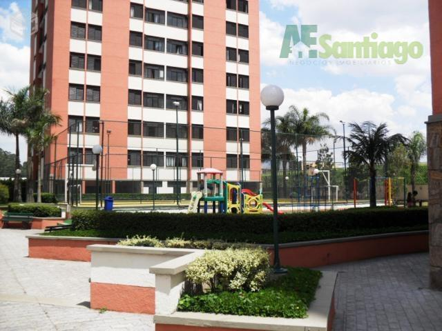 Apartamento residencial à venda, Alphaville, Santana de Parnaíba - AP0092.