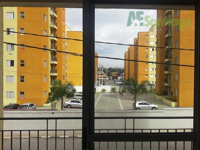 Apartamento residencial para venda e locação, Centro, Jandira .