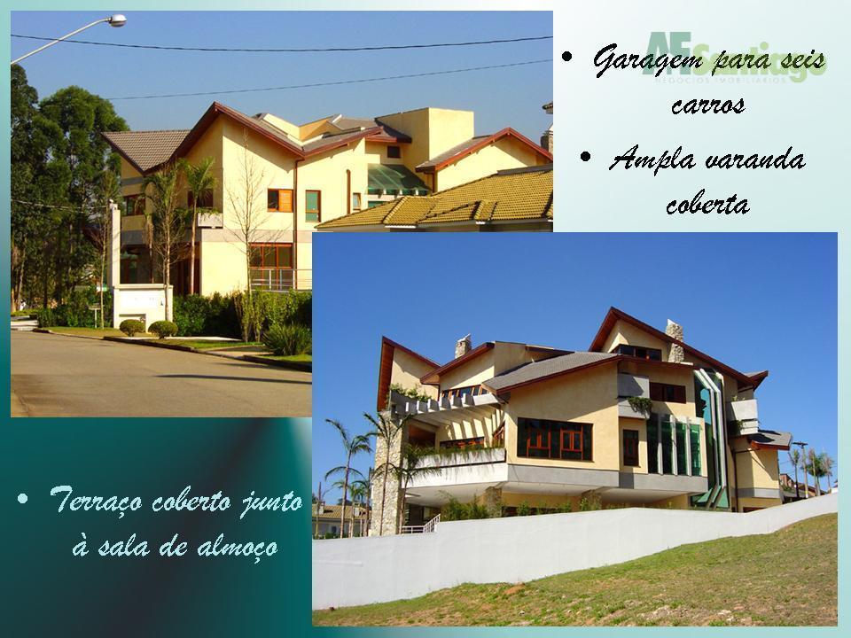 Casa residencial à venda, Residencial Dois (Tamboré), Santana de Parnaíba.