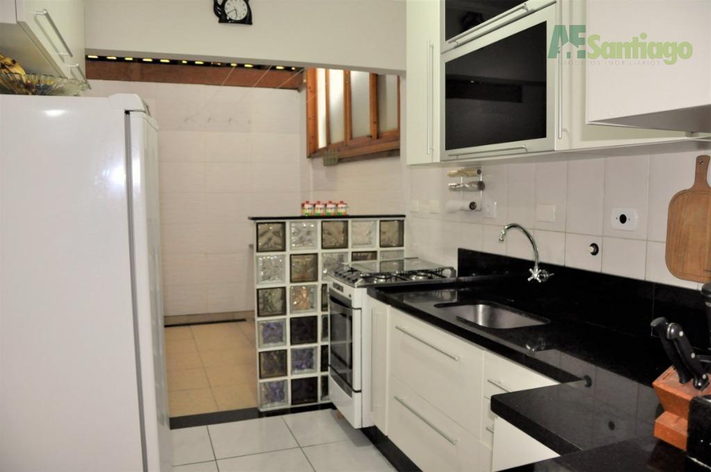 Casa residencial à venda, Condomínio Refúgio Canta Galo, Cotia.