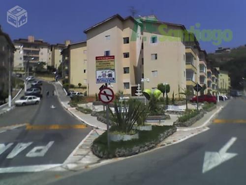 Apartamento residencial à venda, Jardim das Margaridas, Jandira.