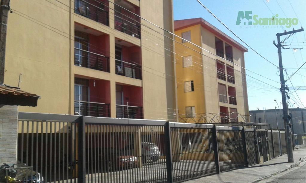 Apartamento residencial à venda, Condomínio Topázio, Jandira.