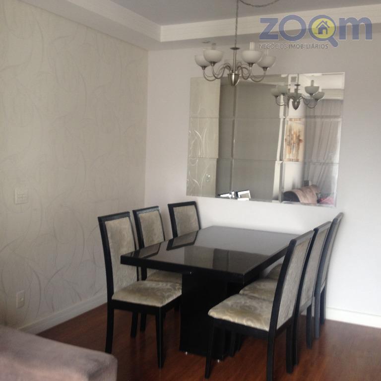 lindo apartamento, totalmente mobiliado, 3 quartos, 1 suíte, todos com armários planejados, cama e tv, sala...