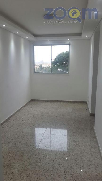 apartamento em excelente localização com 51 m², 2 dormitórios com carpete de madeira, banheiro, sala e...