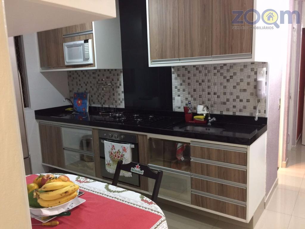 características do imóvel: apartamento c/54 metros quadrados, sendo:2 quartos planejados e camas embutidas sala planejada, c/...