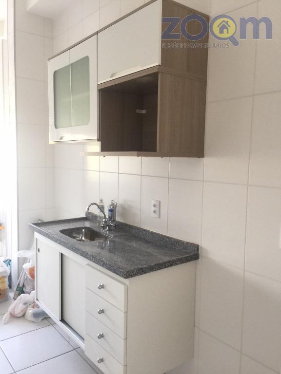 apartamento no residencial flex jundiaí com 2 dormitórios sendo uma suíte, cozinha , sala com varanda...