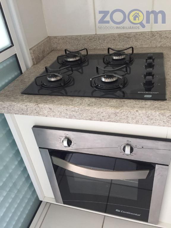 ótimo apartamento com 83m², sala com varanga gourmet, cozinha tipo americana com armários planejados, 3 quartos...