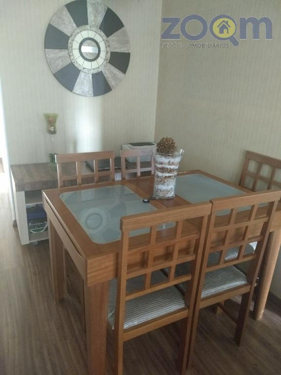 Apartamento mobiliado para locação, Vila Progresso, Jundiaí.