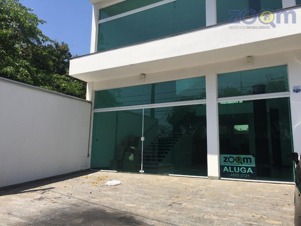 excelente prédio, em ótima localização com ac. 270m², todo em porcelanato e portas blindex, salão inferior...