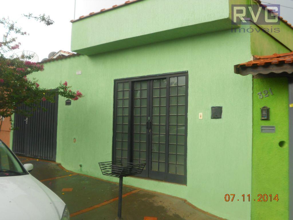 Casa residencial para locação, Centro, Cravinhos - CA0061.