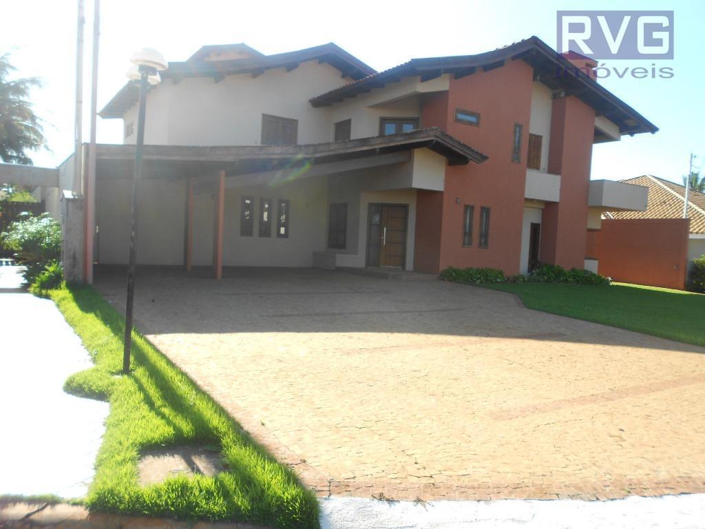Sobrado residencial para venda e locação, Bonfim Paulista, Ribeirão Preto.