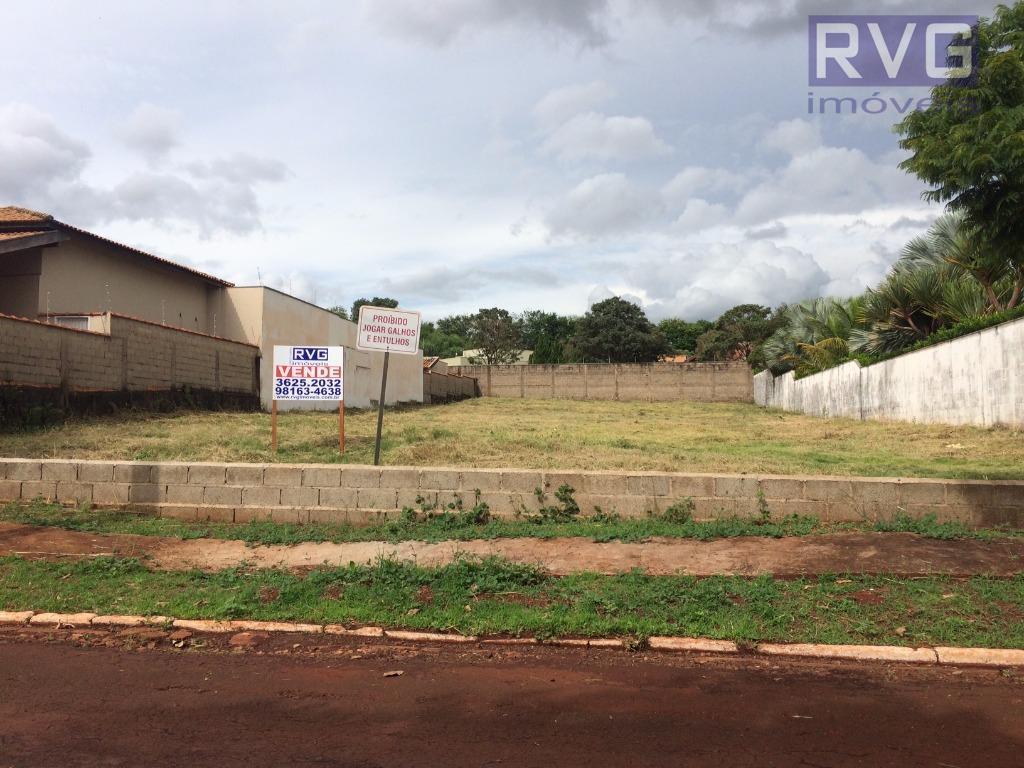 Terreno residencial à venda, Condomínio Quinta da Alvorada, Ribeirão Preto.