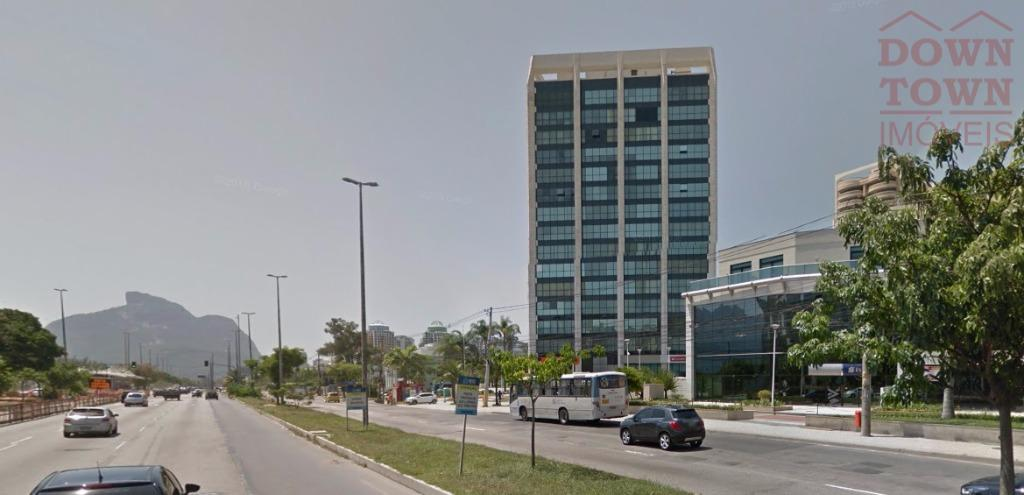 Sala comercial para venda e locação, Barra da Tijuca, Rio de Janeiro.