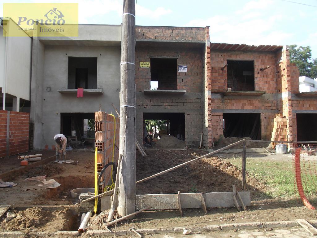 Sobrado com 2 dormitórios, 83,92m² à venda no bairro Garcia, Blumenau/SC. (Unididade 03)