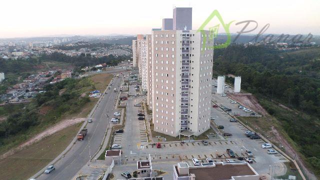 Apartamento residencial à venda, Nova Cidade Jardim, Jundiaí.