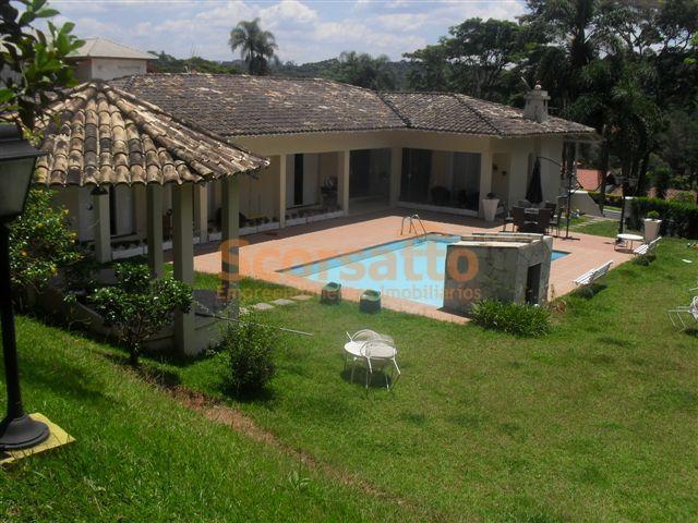 Casa residencial para venda e locação, Chácara da Lagoa, Itapecerica da Serra - CA0295.