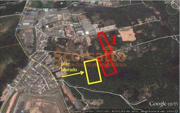 Terreno  industrial à venda, Jardim Colibri, Cotia.
