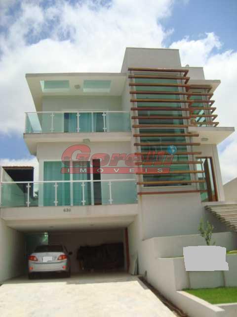 Casa residencial à venda, Condomínio Real Park, Arujá - CA0085.