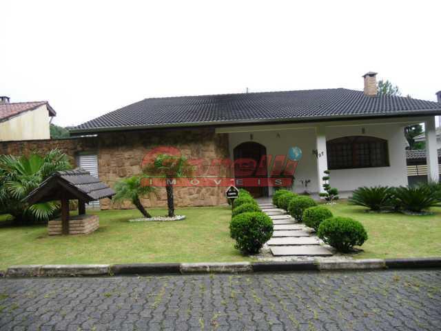 Casa residencial à venda, Condomínio Arujazinho I, II e III, Arujá - CA0235.
