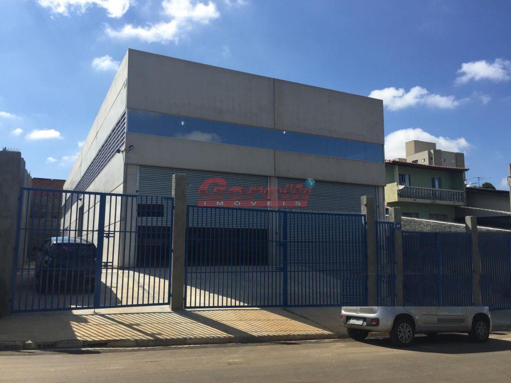 Galpão comercial para locação, Jordanópolis, Arujá - GA0035.