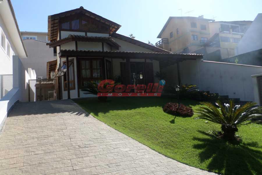 Casa residencial para venda e locação, Condomínio Arujazinho IV, Arujá - CA0435.