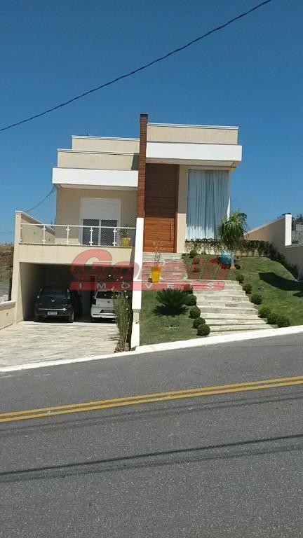 Casa residencial à venda, Condomínio Real Park, Arujá - CA0646.