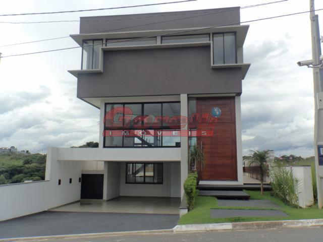 Casa residencial à venda, Condomínio Real Park, Arujá - CA0096.
