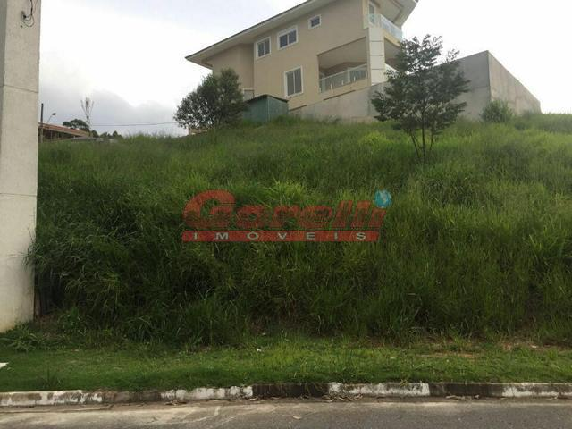 Terreno residencial à venda, Condomínio Real Park, Arujá - TE0027.