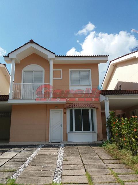 Casa residencial à venda, Condomínio Sunville, Arujá - CA0720.