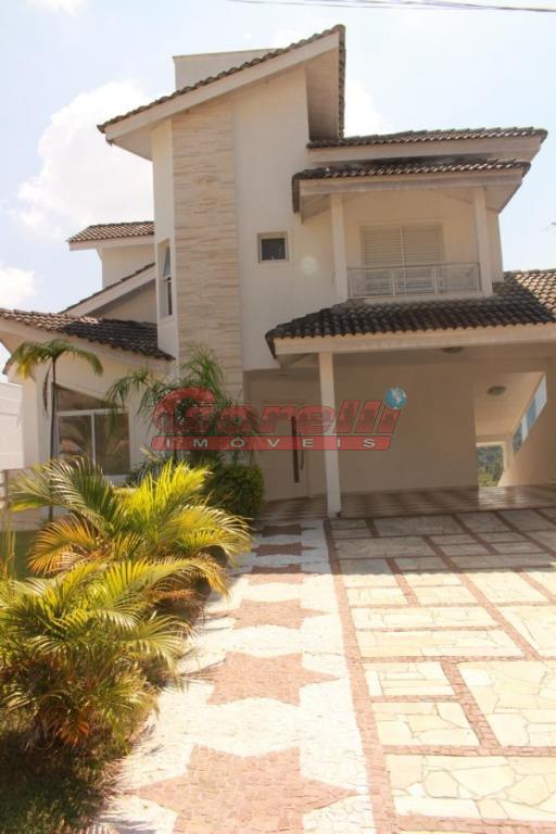 Casa residencial para venda e locação, Condomínio Hills III, Arujá - CA0183.