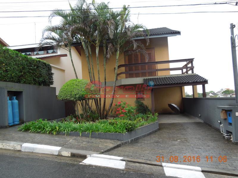 Casa residencial para venda e locação, Condomínio Arujazinho IV, Arujá - CA0842.