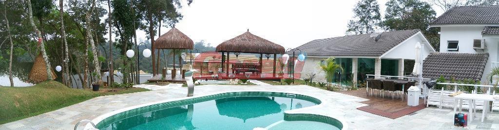 Casa residencial à venda, Condomínio Hill's I e II, Arujá - CA0213.