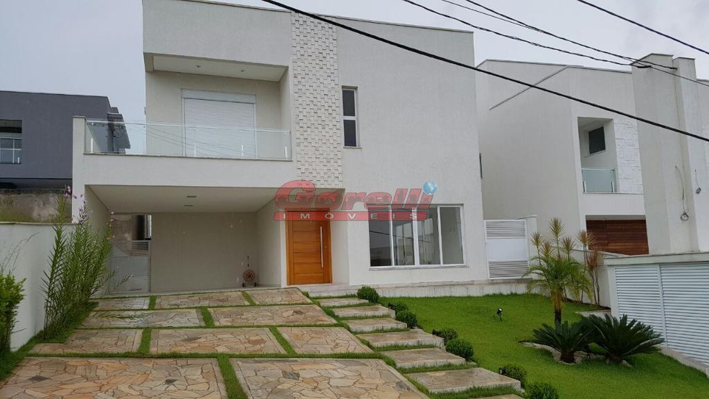 Casa residencial à venda, Condomínio Real Park, Arujá - CA0092.