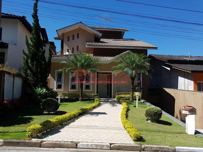 Casa residencial à venda, Condomínio Arujá 5, Arujá - CA0897.