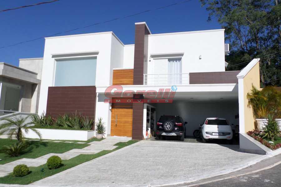 Casa residencial à venda, Condomínio Arujá Ville, Arujá - CA0340.