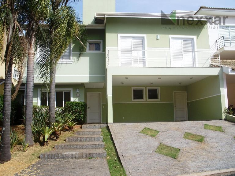 Casa residencial para venda e locação, Condomínio Millenium, Valinhos - CA0043.