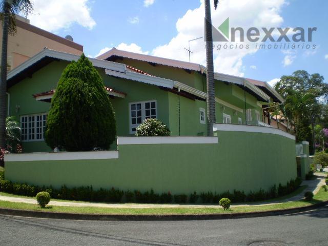 Casa residencial para venda e locação, Condomínio Residencial Camburi, Valinhos - CA0083.