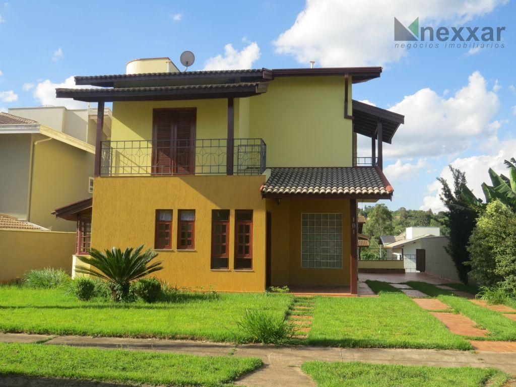 Casa residencial para venda e locação, Condomínio Residencial Terras do Caribe, Valinhos - CA0128.
