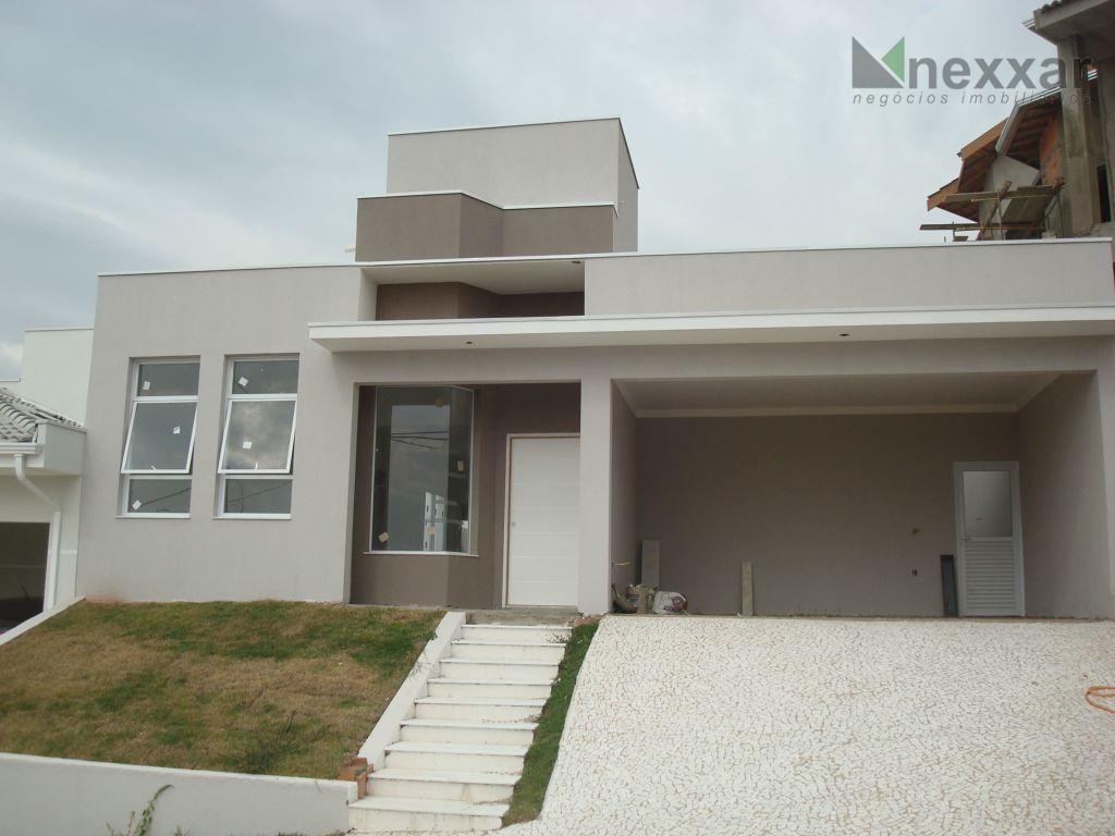 Casa residencial à venda, Condomínio Villagio di Napoli, Valinhos - CA0159.
