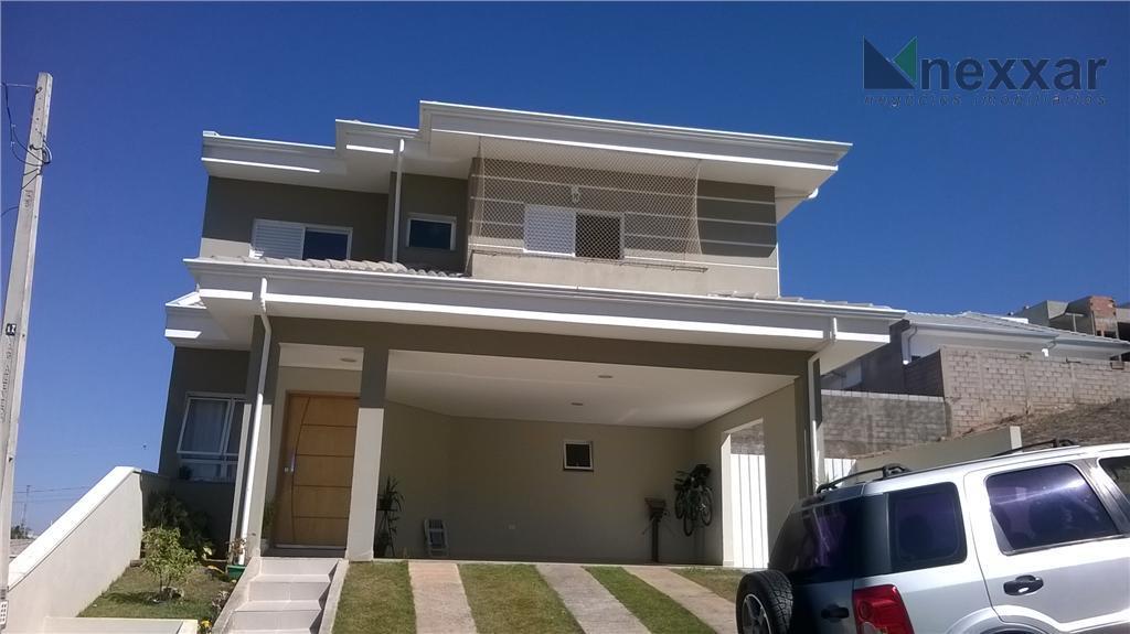 Casa residencial à venda, Condomínio Villagio di Napoli, Valinhos - CA0160.