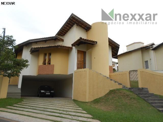 Casa residencial à venda, Condomínio Millenium, Valinhos - CA0179.
