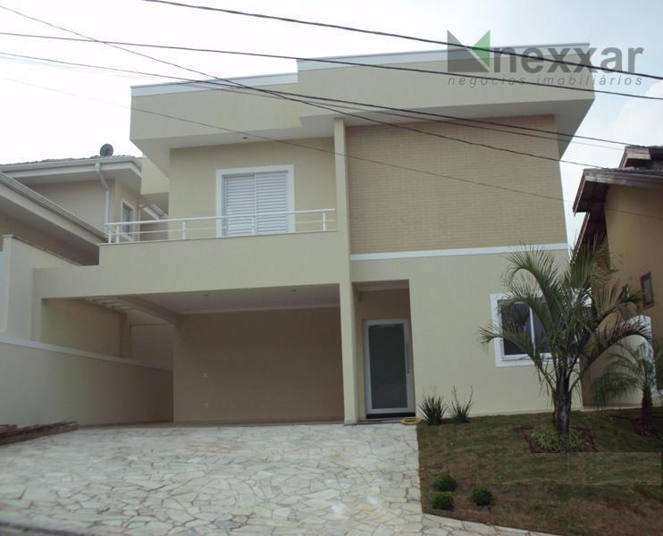 Casa residencial à venda, Condomínio Morada das Nascentes, Valinhos - CA0229.
