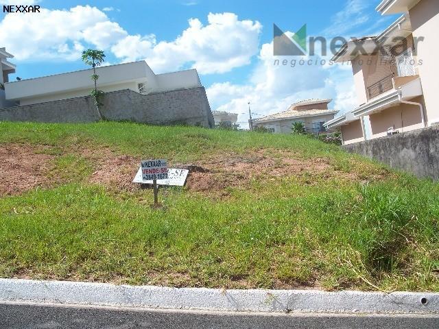 Terreno residencial à venda, Condomínio Morada das Nascentes, Valinhos - TE0098.