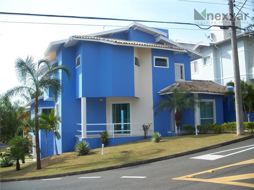 Casa residencial para venda e locação, Condomínio Millenium, Valinhos - CA0234.