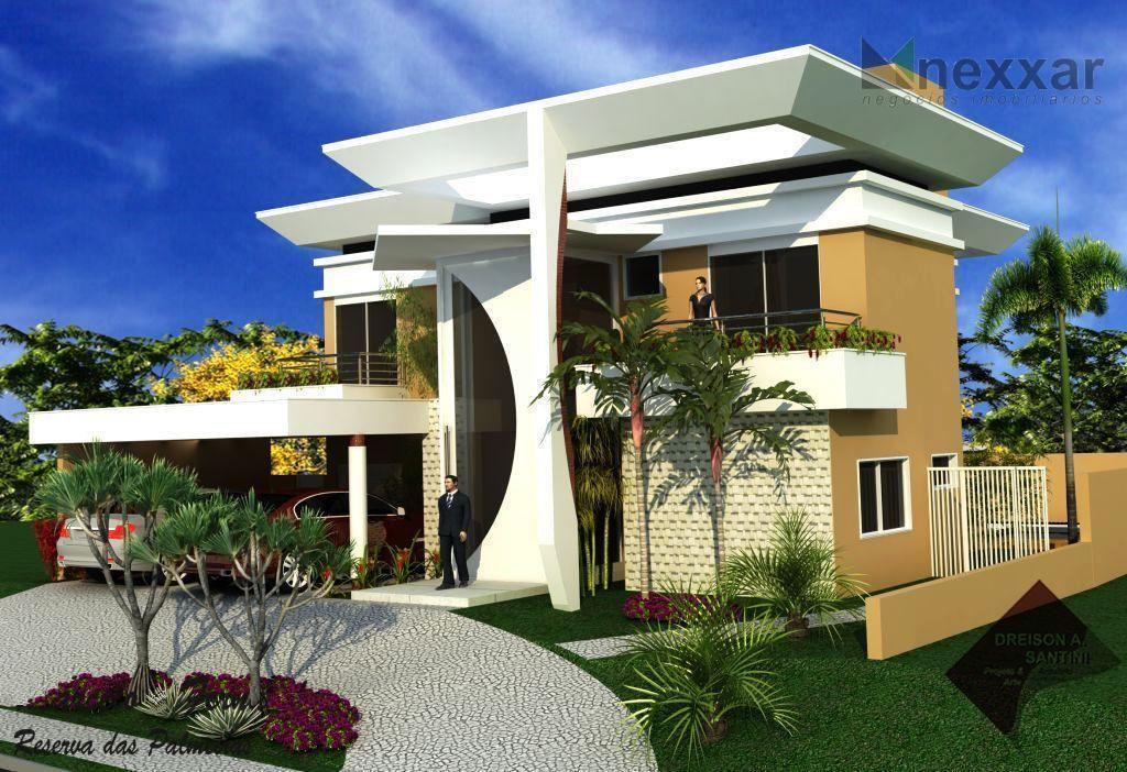 Casa  residencial à venda, Condomínio Reserva das Palmeiras, Valinhos.