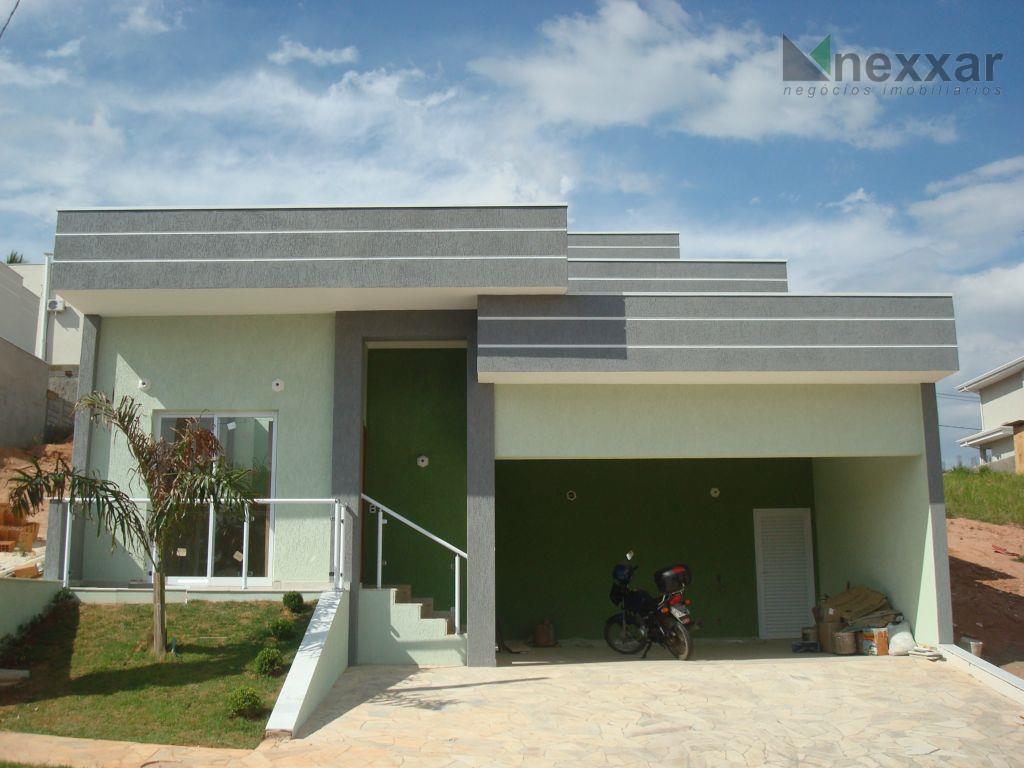 Casa residencial à venda, Condomínio Le Village, Valinhos - CA0131.