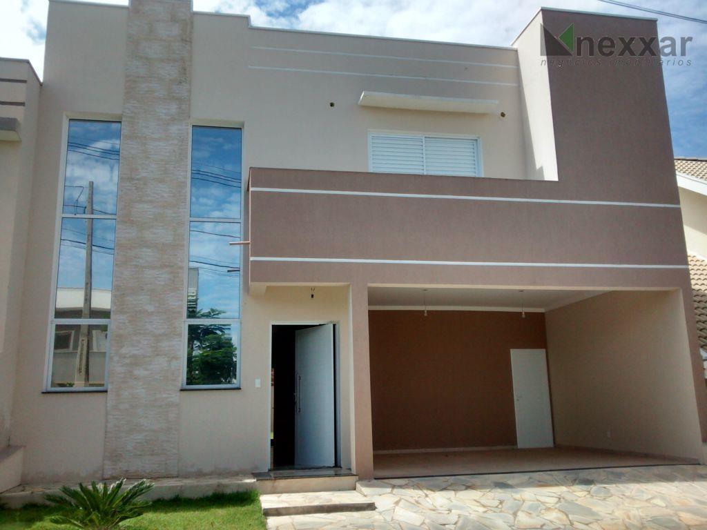 Casa residencial à venda, Condomínio Madre Maria Villac, Valinhos - CA0355.