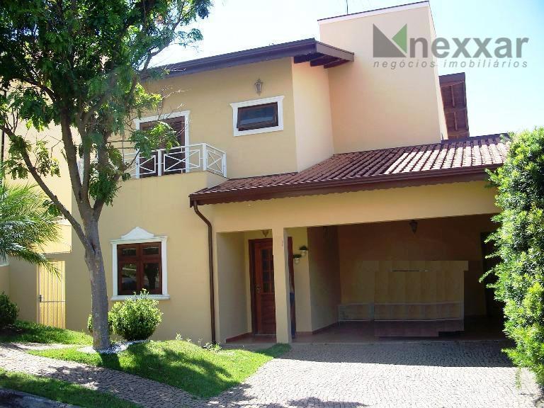 Casa residencial à venda, Village Florence, Valinhos - CA0369.